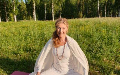 Yoga vid älven