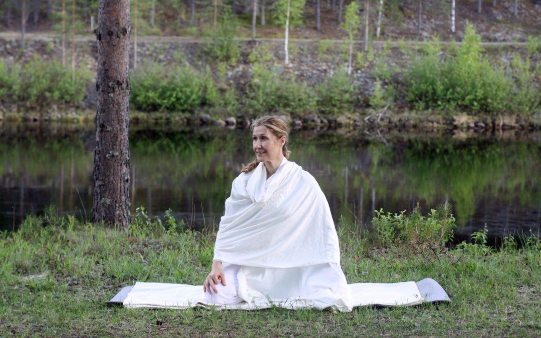 Så fin avslutning på Yoga Bas utomhus i sommar!