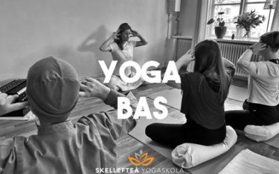 Kurstart 12 oktober: Yoga Bas – Yoga och meditation