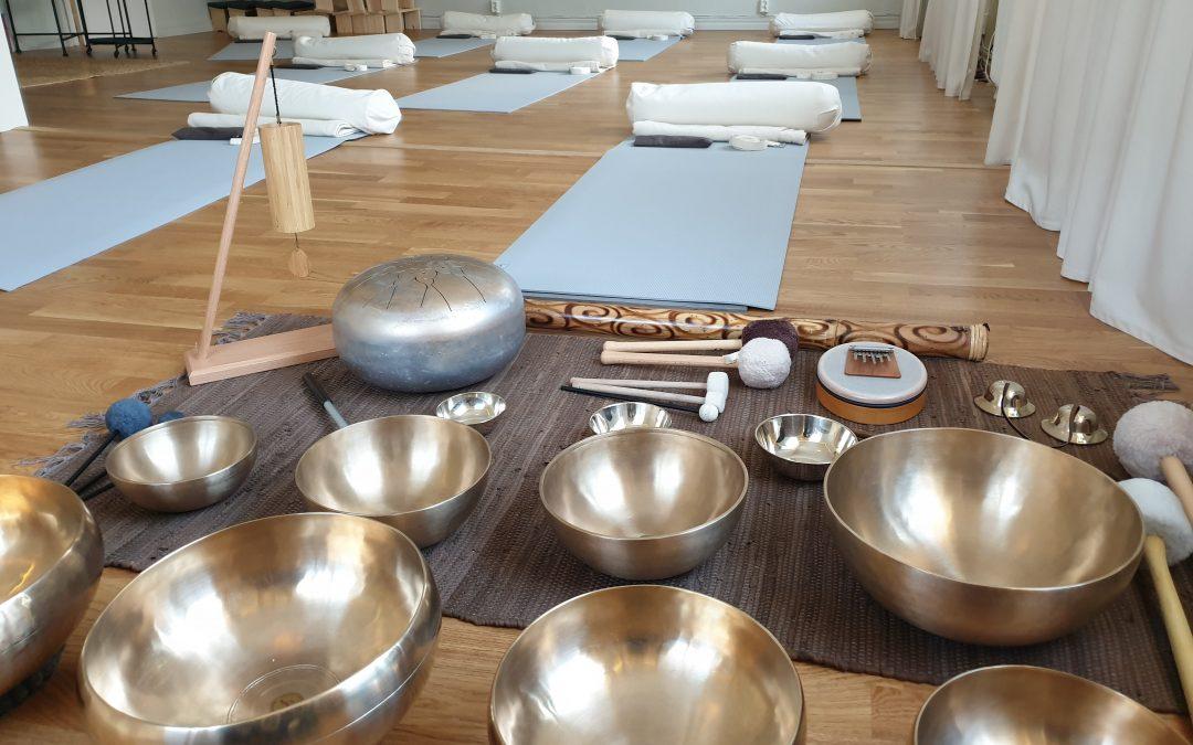 Yoga & klangavslappning