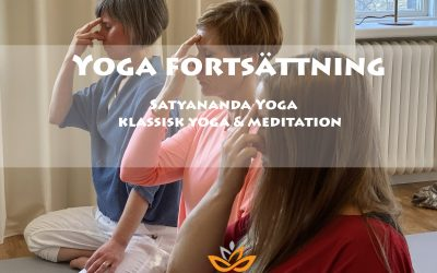 Yoga fortsättning – Tisdagar
