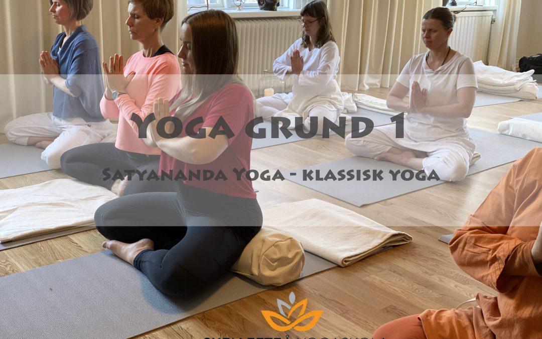 Ny kursstart i klassisk yoga – avslappning – stillhet (grundnivå)