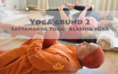 Yoga grund 2 – måndagar