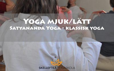 Yoga mjuk/lätt lördagar 5 tillfällen, kl. 12.45 – 14.15