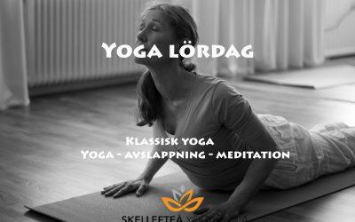 Yoga lördag (grundnivå)- med föranmälan, 16/1, 23/1, 30/1