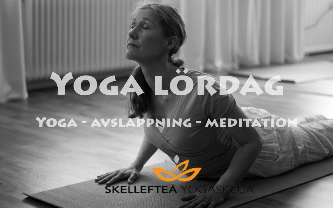 Yoga för dig på lördag 10 april