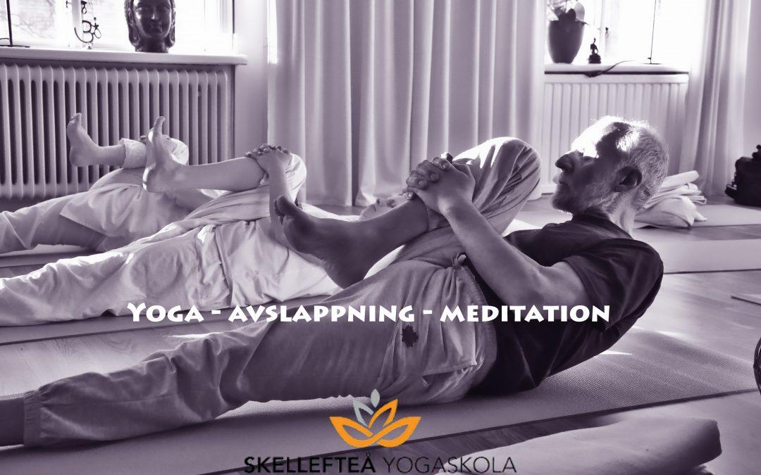 Yoga för dig – lördag 24 april