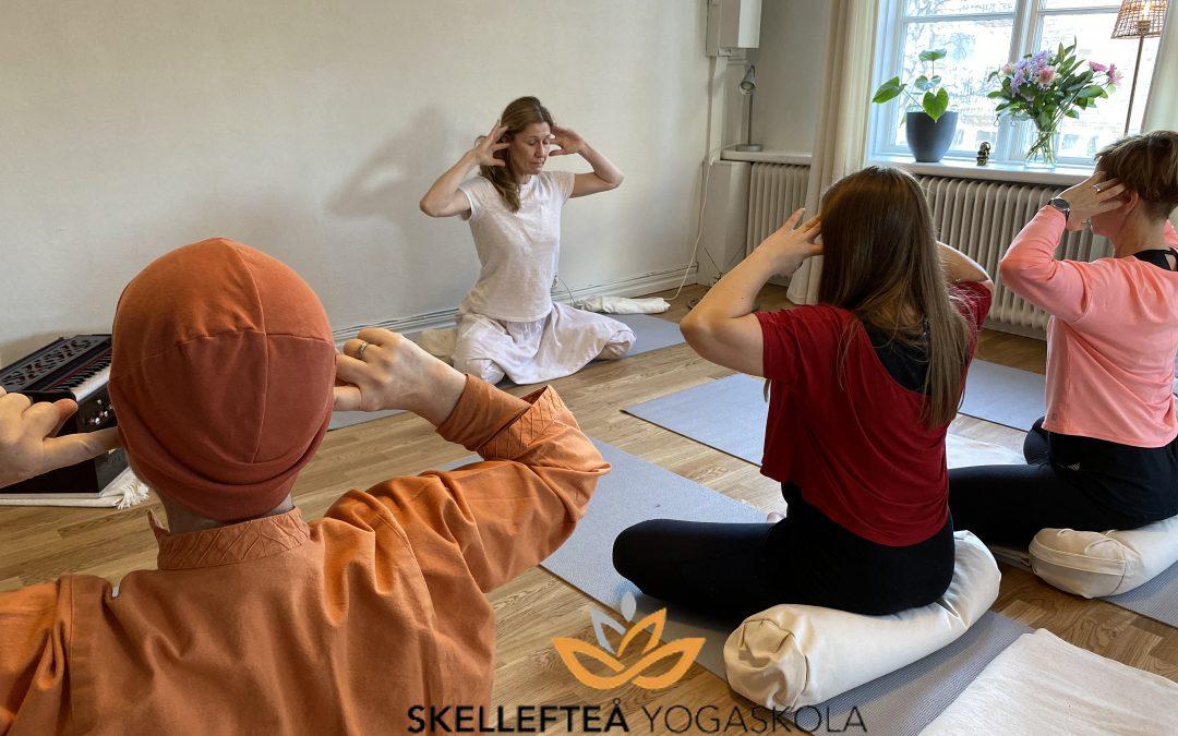 Yoga för inre balans – tisdag och 13/7 och onsdag 14/7