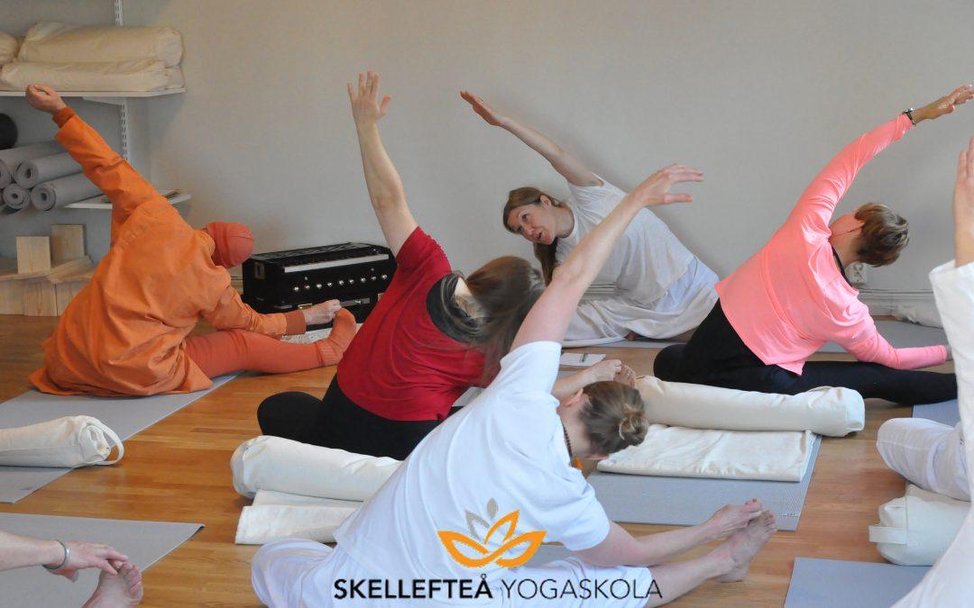 Yoga för hela dig – tisdag 17/8 och/eller onsdag 18/8