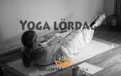 Varmt välkommen och Yoga lördag 23/10, kl. 10.00-11.45!
